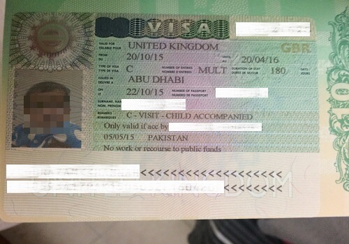UK Multiple Visa
